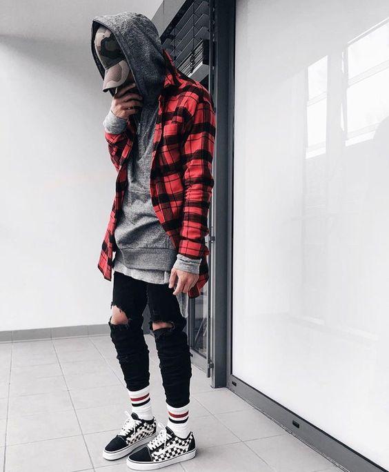 áo sơ mi flannel