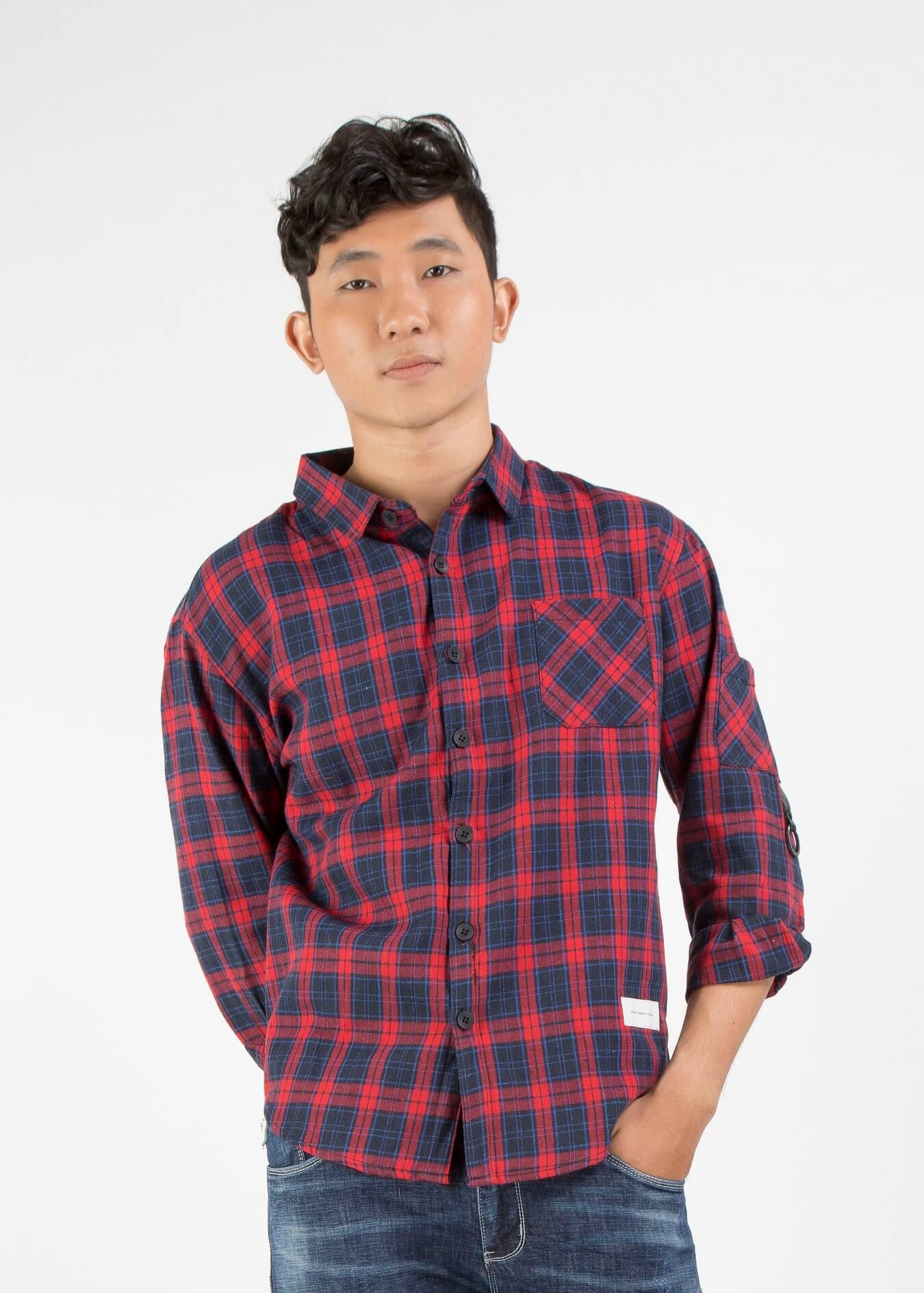 Flannel shirt là gì? mặc và phối áo flannel sao cho đẹp