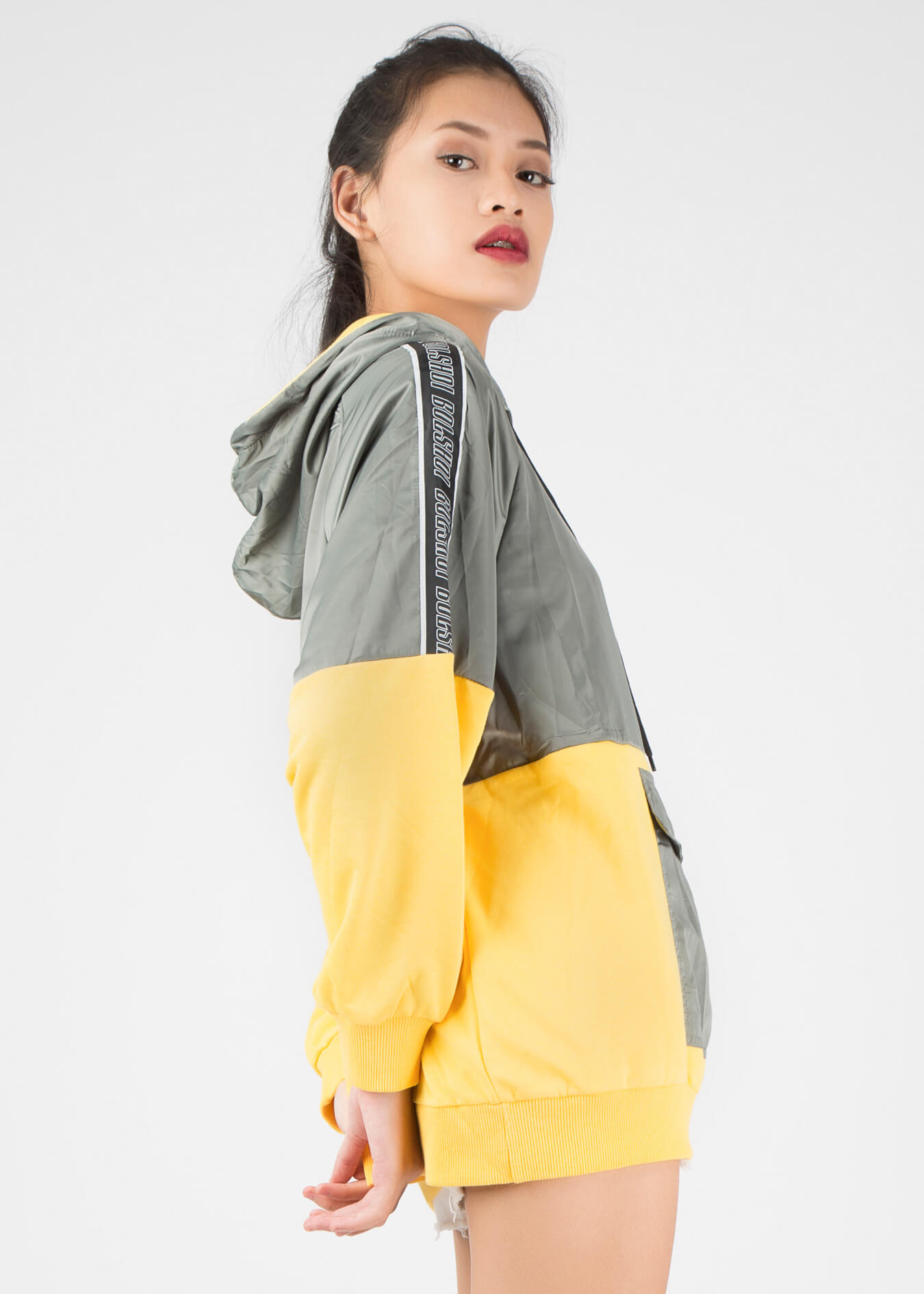 Áo hoodie unisex túi hộp