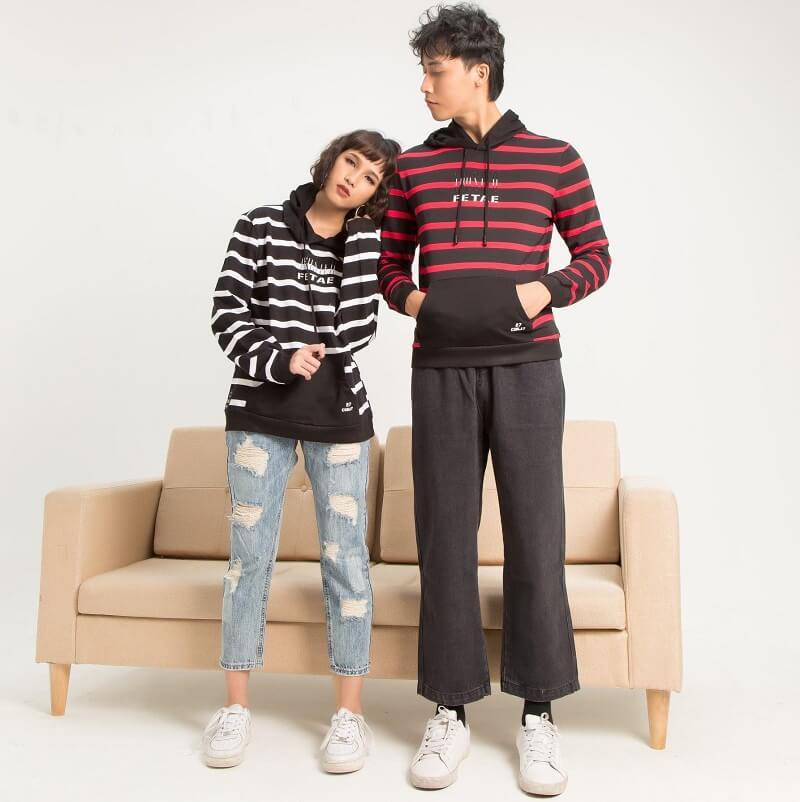 Phong cách khoẻ khoắn với áo hoodie