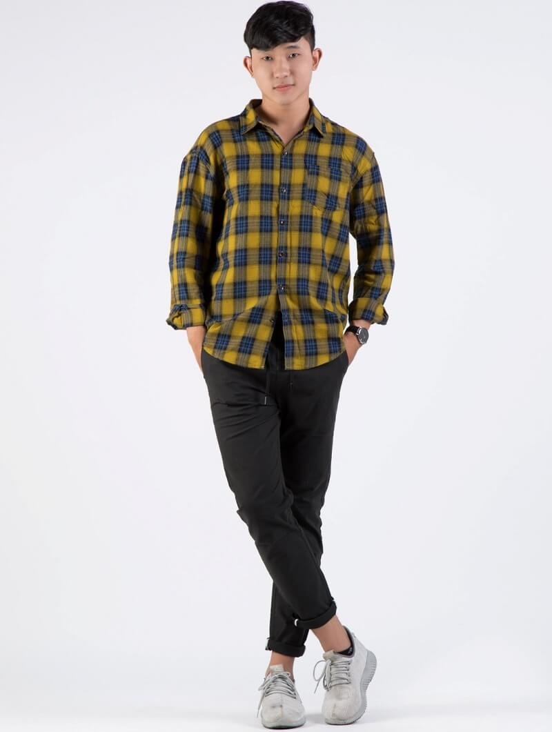 Áo sơ mi flannel có khả năng ấm rất tốt trong mùa Đông