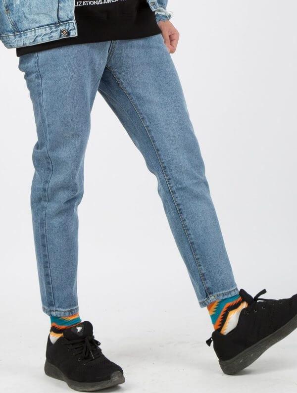 Chân to có nên mặc quần baggy? Cách mặc quần baggy cho người chân ngắn