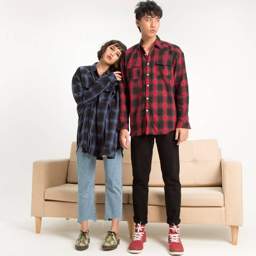 TripleR - Shop áo sơ mi caro flannel chất
