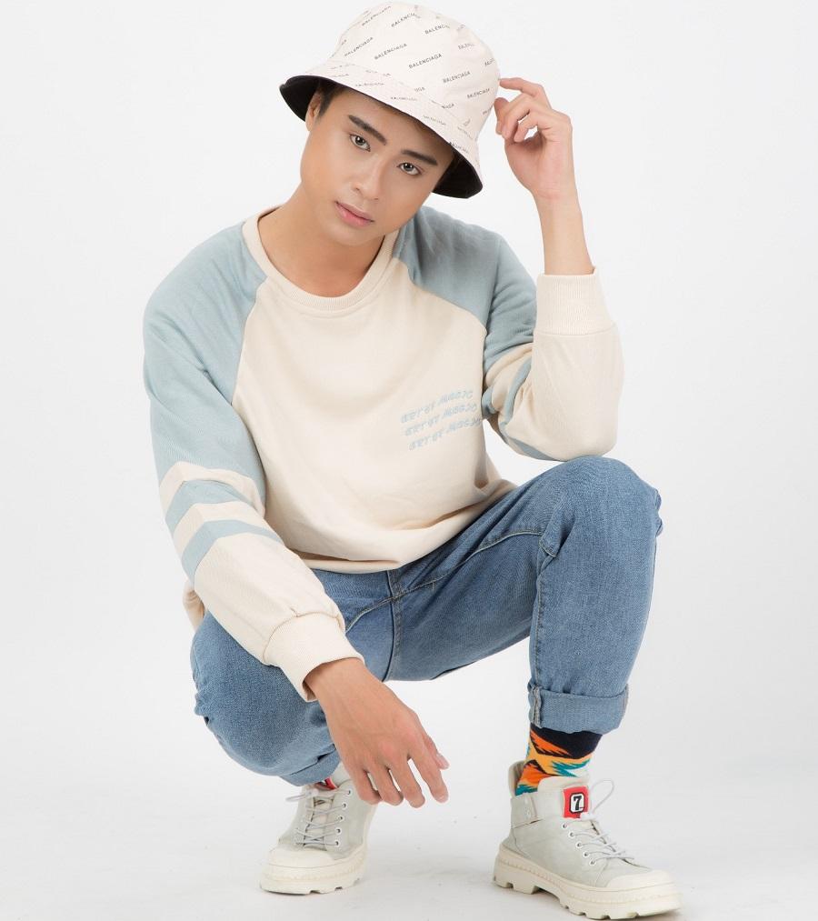 Gương mặt người mẫu trong bộ sưu tập Street Style chất lừ
