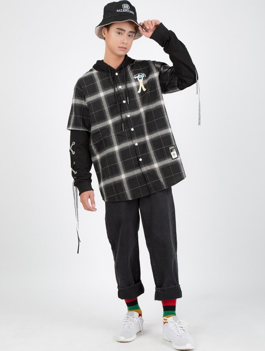 Bạn thực sự nhìn rất bụi bặm và cá tính với những chiếc áo Flannel này