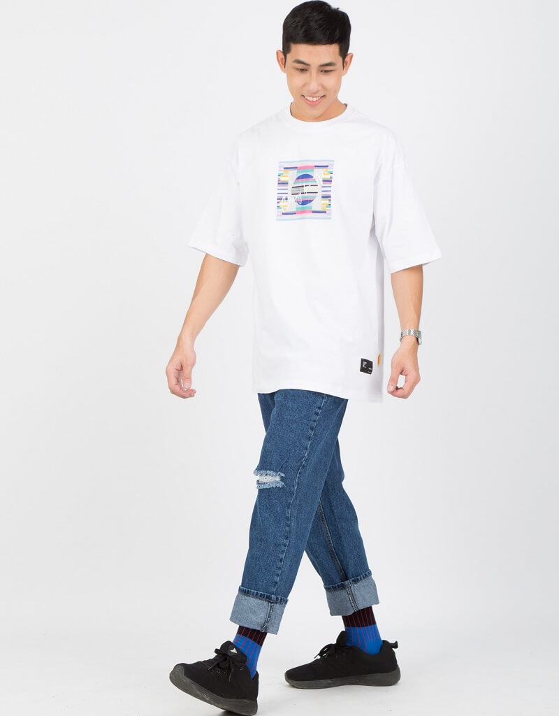 Chân to có nên mặc quần baggy?