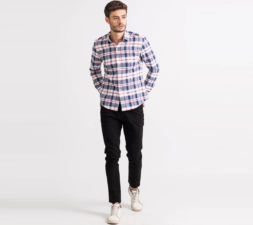 Yame - Shop áo sơ mi caro flannel chất