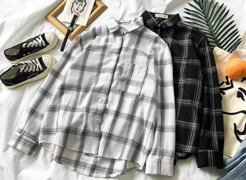 Pumi Shop - Shop áo sơ mi caro flannel chất