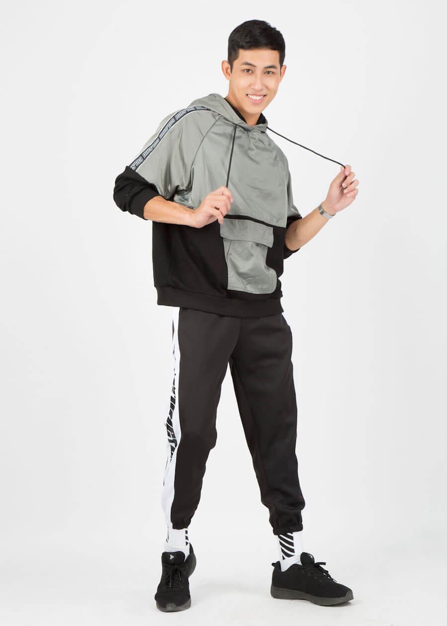 Áo hoodie và quần sweatpants