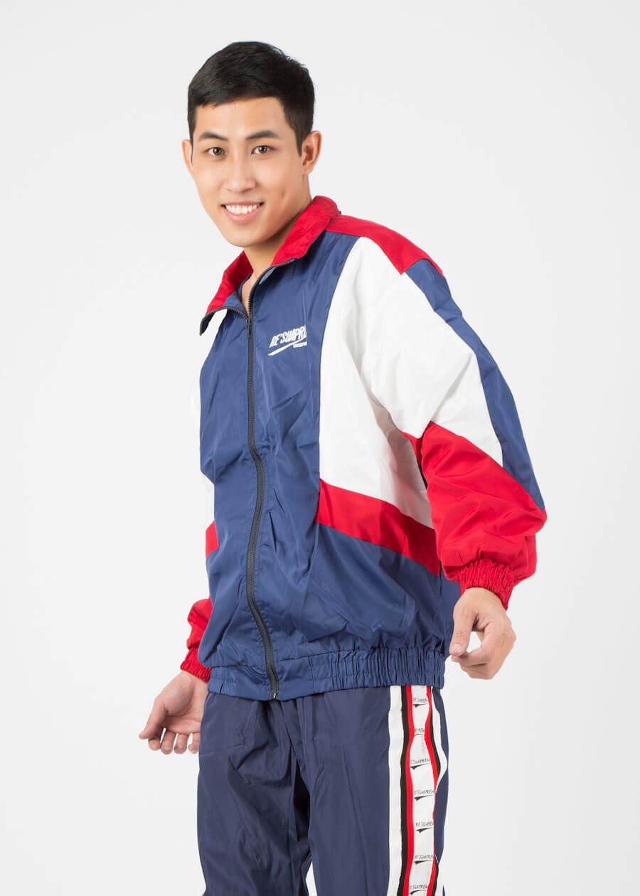 Mẫu áo khoác gió phong cách unisex