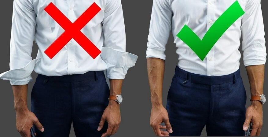 Hãy lựa chọn những trang phục phù hợp với kích cỡ cơ thể