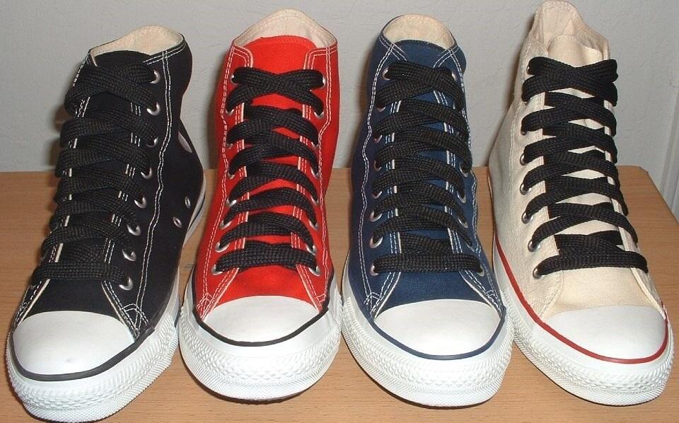 Kiểu thắt dây giày hình chữ X