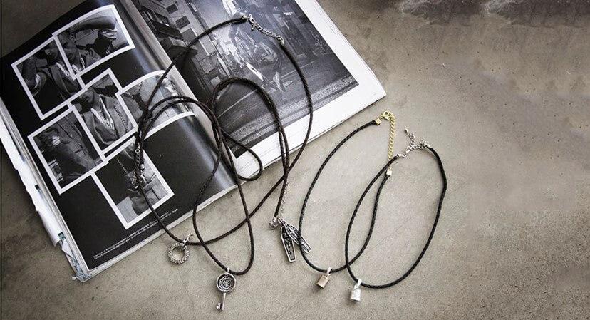 Vòng dây đeo cổ - Phụ kiện phong cách đường phố