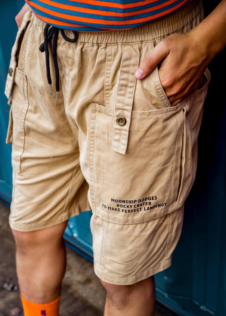 Mẫu quần jogger kaki (màu khaki) đẹp không tì vết