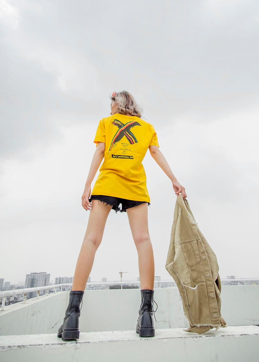 Áo thun unisex họa tiết phong cách X-Men
