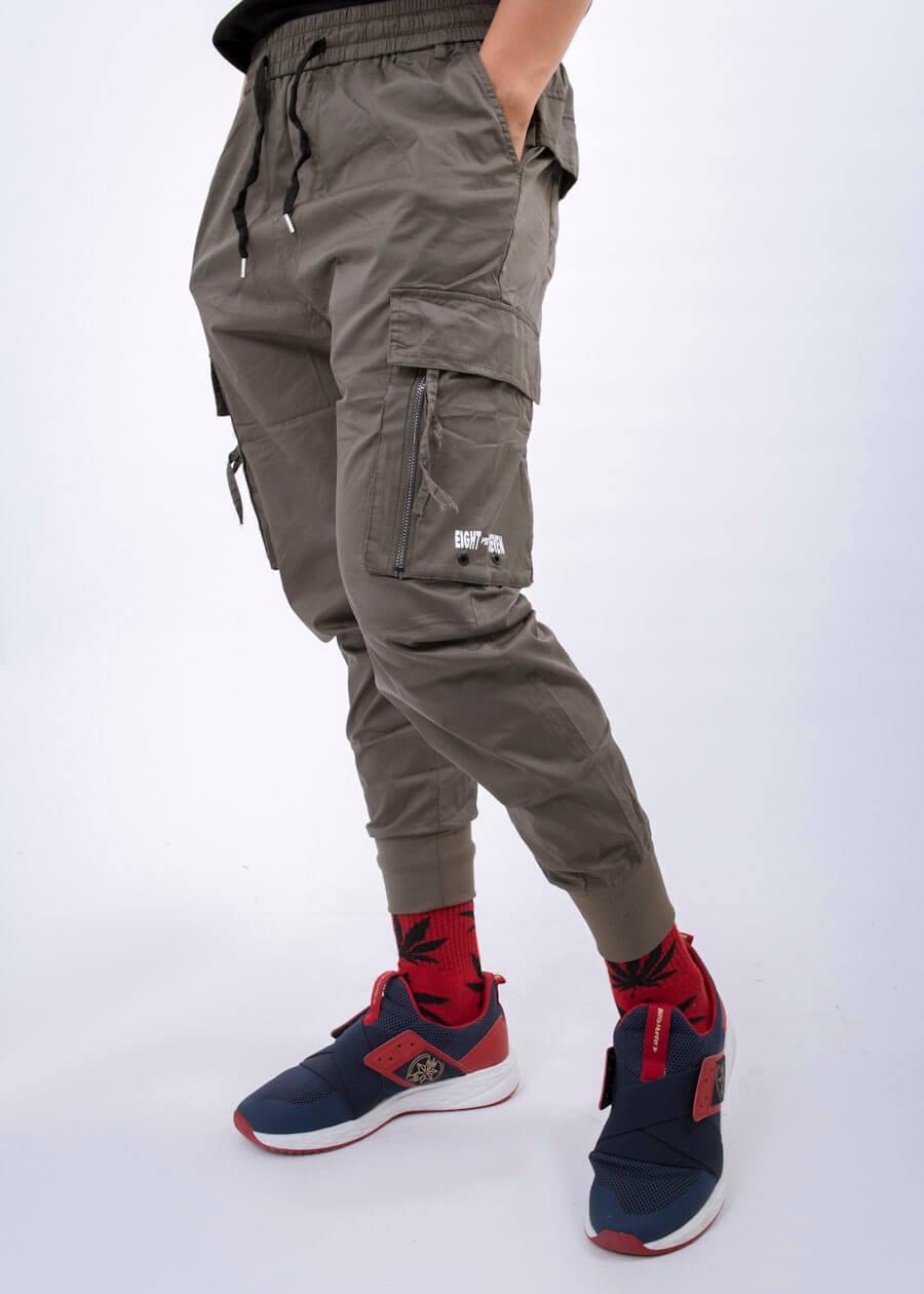 Mẫu quần kaki jogger túi hộp siêu phong cách