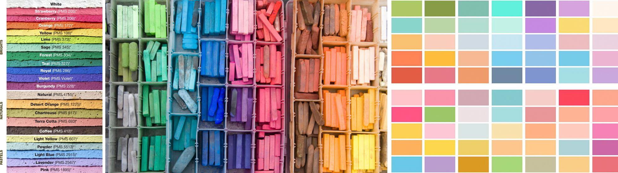 Pastel là gì? Màu pastel sử dụng như thế nào
