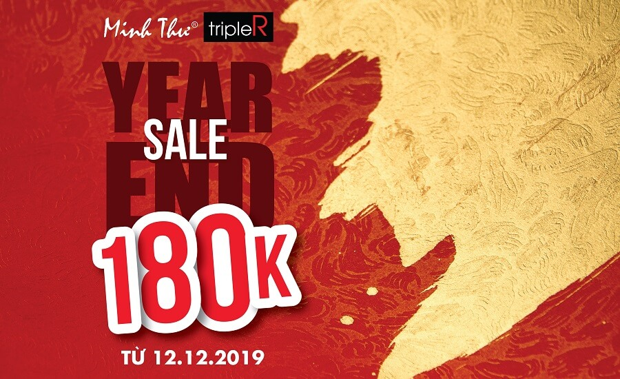 Year End Sale - Đồng giá 180k