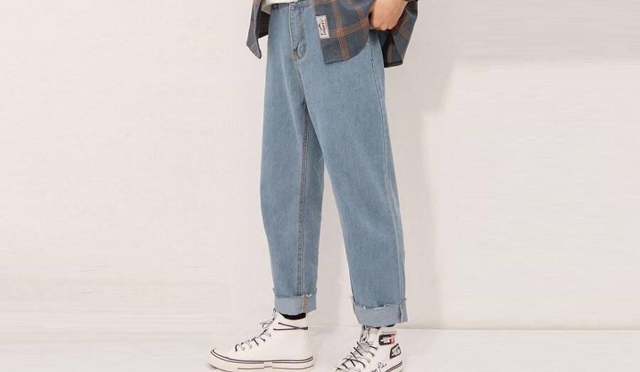 Cách phối & mặc quần baggy sao cho đẹp?
