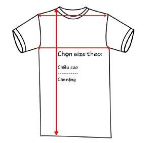 Cách chọn size áo theo chiều cao cân nặng