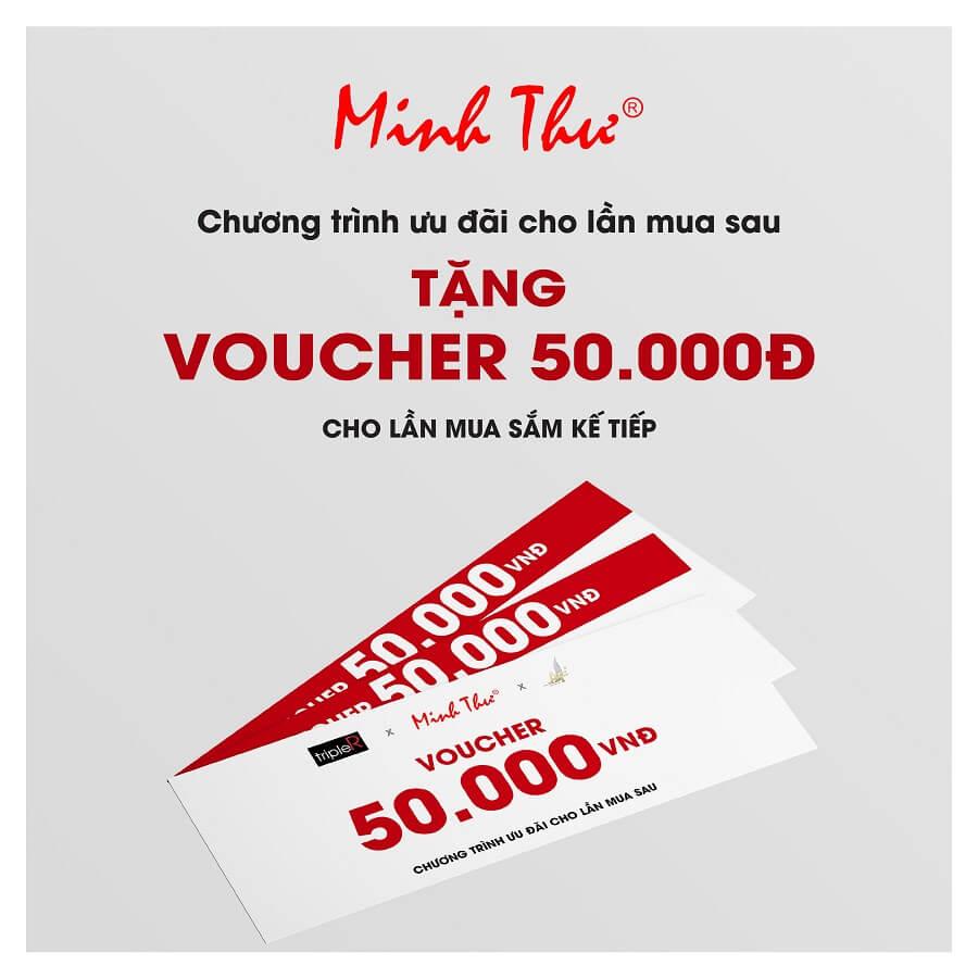 Chương trình ưu đãi tặng voucher 50k