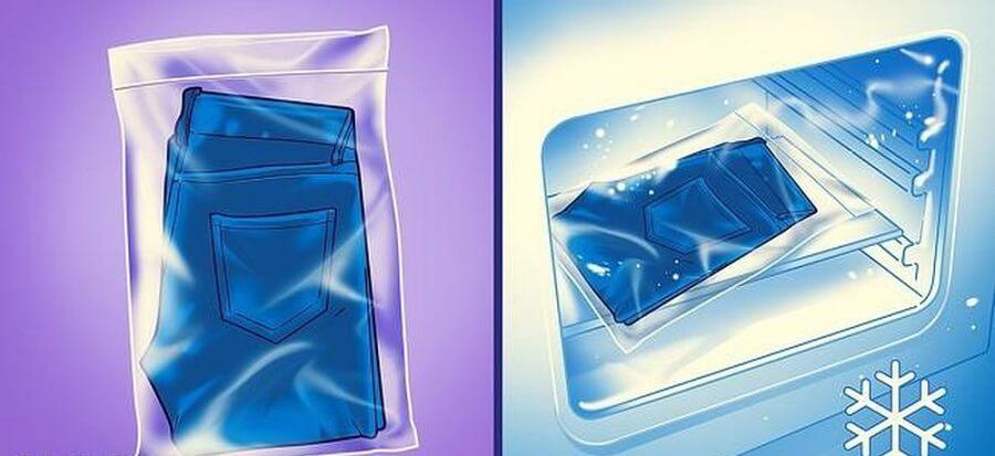 Các bước giặt bằng máy giặt giúp quần jean mới không ra màu