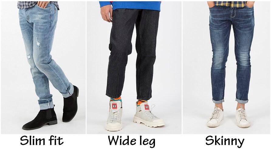 Phân biệt quần jean slim fit với những kiểu quần khác thế nào?