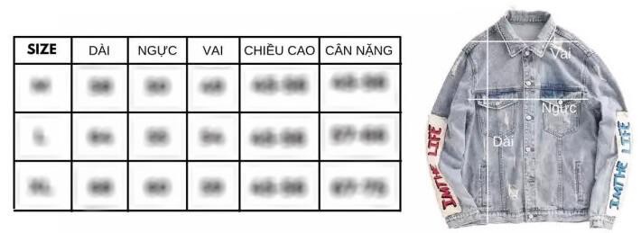 Cách chọn size áo khoác nam cực đơn giản & chính xác