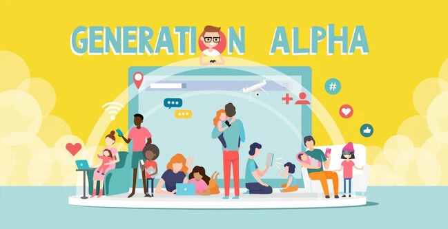 Thế hệ Alpha mang những đặc biệt nổi trội về công nghệ so với các thế hệ trước đó