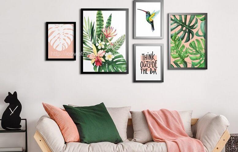 Có rất nhiều loại vải canvas khác nhau phụ thuộc vào loại sợi kết hợp với canvas gốc