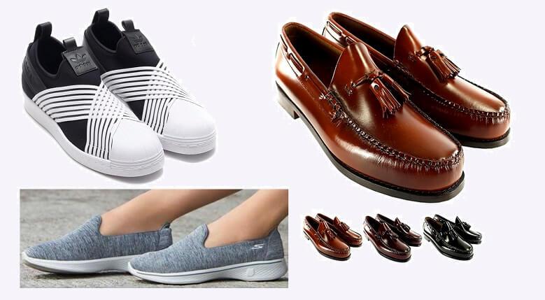 Giày slip on (giày lười) khác với những kiểu giày khác như thế nào?