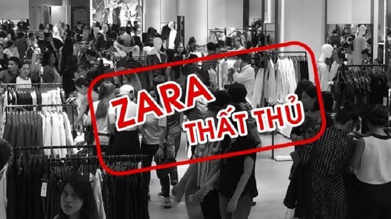 Slogan Zara thất thủ ngày mở bán tại Việt Nam trở spotlight trong nhiều ngày