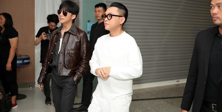 Nhà thiết kế nổi tiếng Công Trí vad Sơn Tùng MTP chiếm sóng spotlight trong 1 sự kiện thời trang