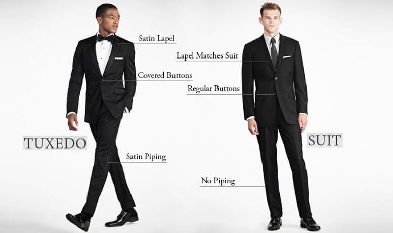Tuxedo là gì? Tuxedo liên quan gì đến vest, suit hay blazer