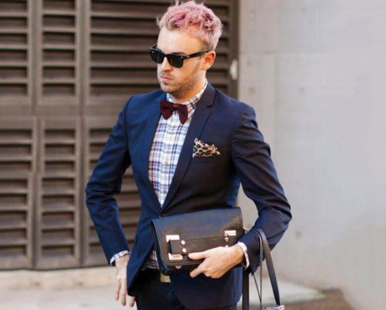 Áo Tuxedo kết hợp cùng Street Style đi vào chốn công sở