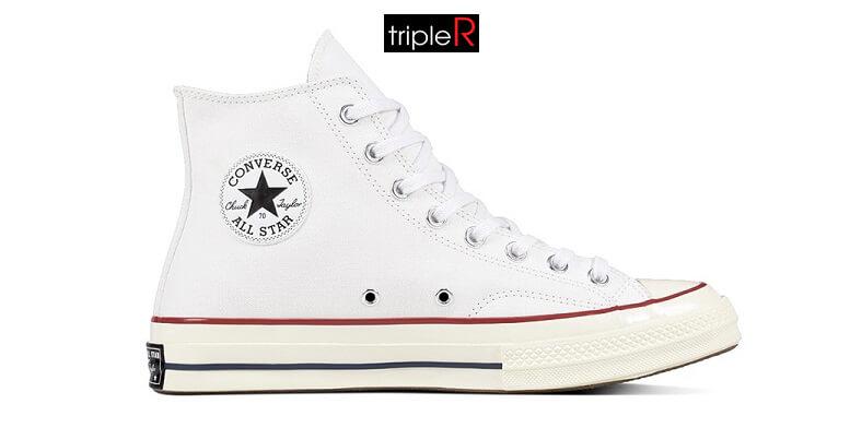 Giày cổ cao Converse vừa thích hợp cho người thích làm điệu, cũng thích hợp cho người yêu thể thao