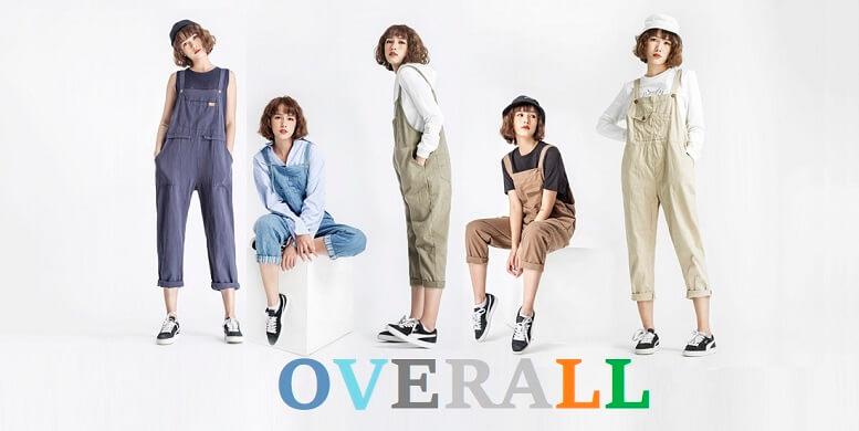 """Overall là gì? Tìm hiểu về """"Overalls"""": Item cá tính đậm chất street style"""