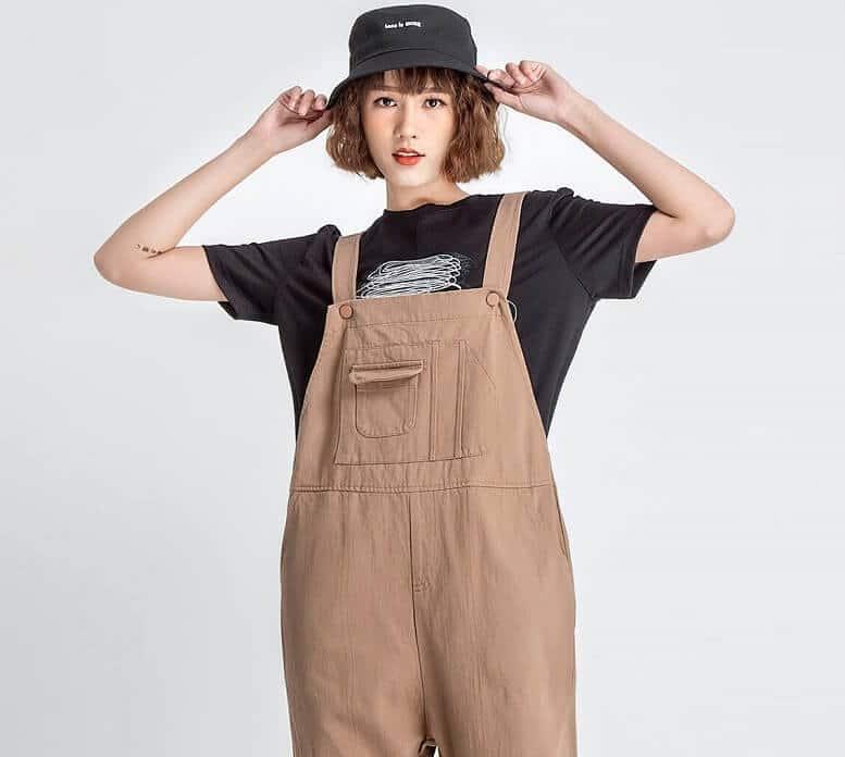 Mặc quần yếm overall thế nào cho đẹp?